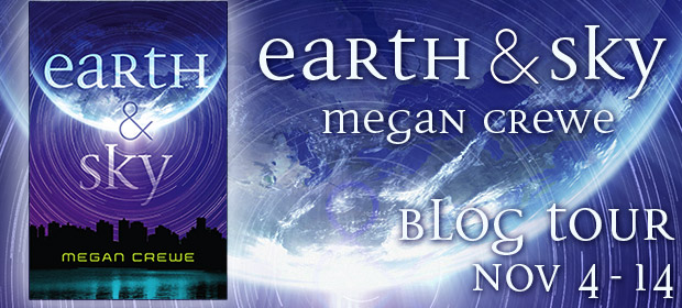 #Giveaway Interview Review EARTH TO SKY by MEGAN CREWE @megancrewe
