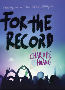 Cover Reveal Giveaway FOR THE RECORD by CHARLOTTE HUANG @charlottexhuang