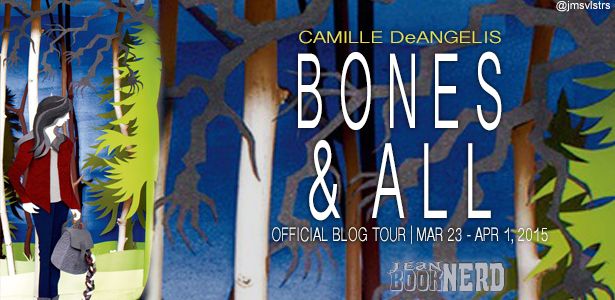 #Giveaway Review BONES & ALL by CAMILLE DeANGELIS