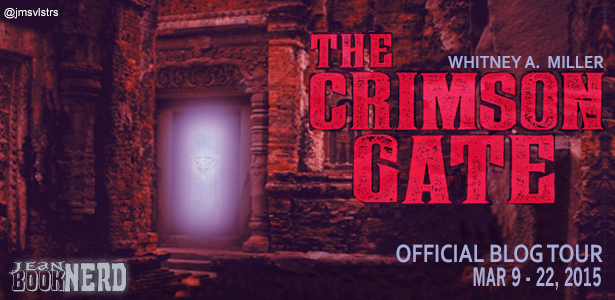 #Giveaway Review THE CRIMSON GATE by WHITNEY MILLER @whitneymiller @FluxBooks