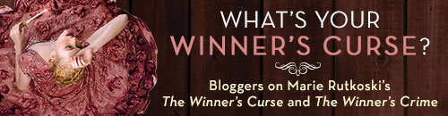 What's Your Winner's Curse? #Giveaway Review THE WINNER'S CRIME by MARIE RUTKOSKI @marierutkoski