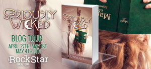 #Giveaway Interview SERIOUSLY WICKED by Tina Connolly @tinaconnolly @torteen