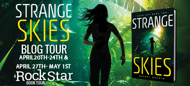 #Giveaway Interview STRANGE SKIES by KRISTI  HELVIG @KristiHelvig @NewsEgmontUSA