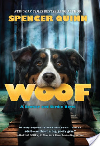 Review WOOF by Spencer Quinn @Scholastic