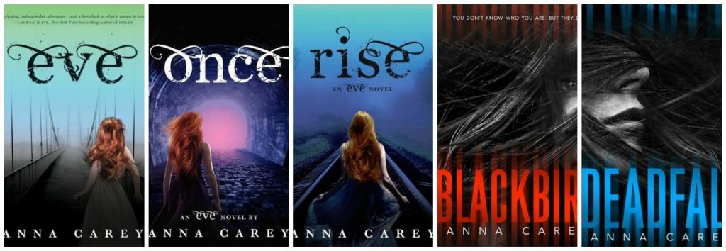 anna carey books