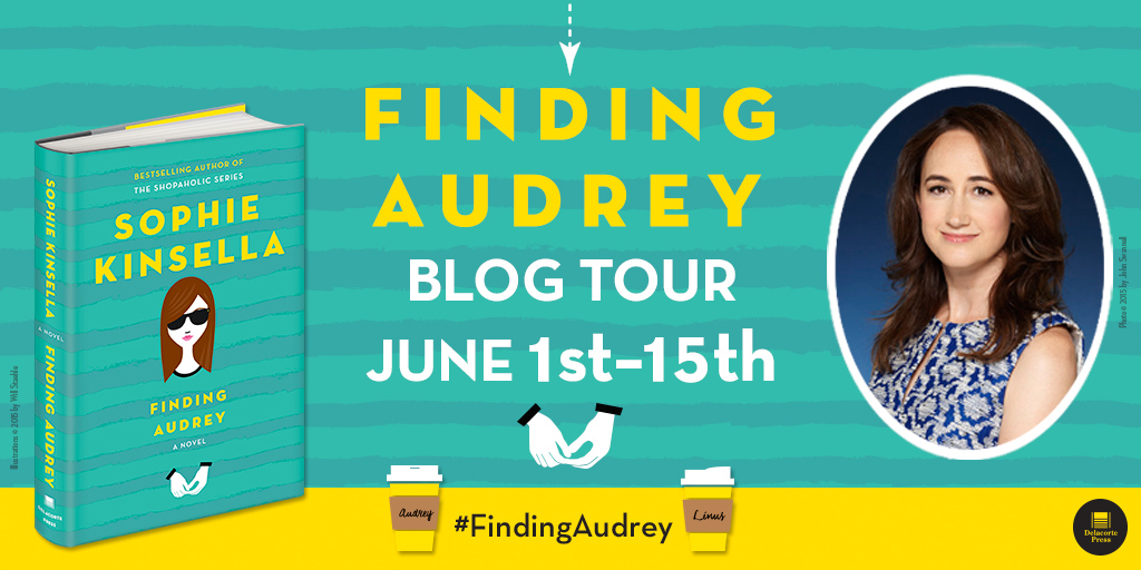 #Giveaway Review FINDING AUDREY by SOPHIE KINSELLA @KinsellaSophie @RandomHouseKids #FindingAudrey