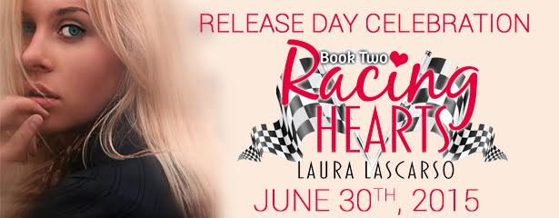 $10 #Giveaway RACING HEARTS 2 by LAURA LASCARSO @lauralascarso @LeapBks