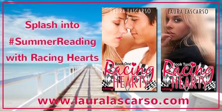 $10 Giveaway RACING HEARTS 2 by LAURA LASCARSO @lauralascarso @LeapBks  #SummerReading