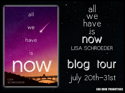 #Giveaway Review ALL WE HAVE IS NOW by LISA SCHROEDER @lisa_schroeder @Scholastic