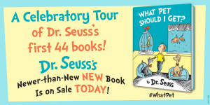 Dr. Seuss 44 Classic Book Celebratory Tour  #Giveaway Review IF I RAN THE CIRCUS @DrSeuss  @randomhousekids