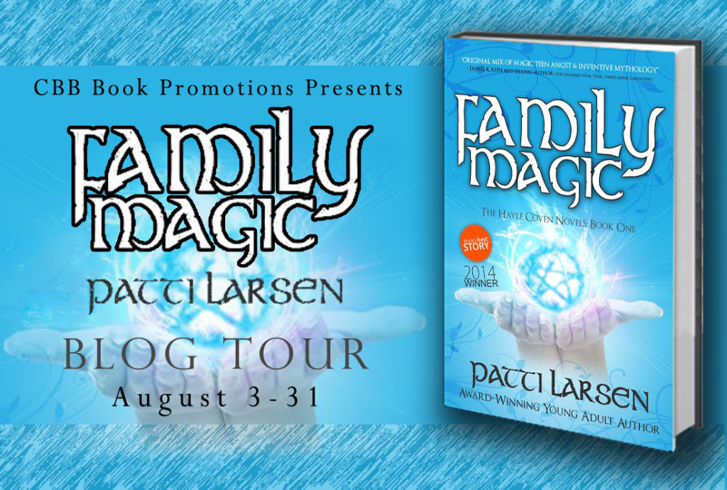 $25 #Giveaway interview FAMILY MAGIC by Patti Larsen @PattiLarsen