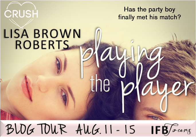 #Giveaway Guest Post PLAYING THE PLAYER by Lisa Brown Roberts @LBrownRoberts @EntangledTeen