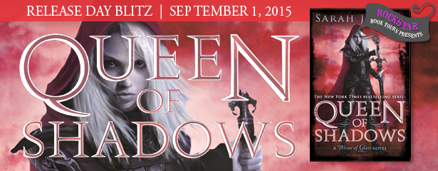 #Giveaway Release Day Blast QUEEN OF SHADOWS by SARAH J MAAS @SJMaas @BloomsburyKids