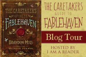 $25 #Giveaway Review THE CARETAKERS GUIDE TO FABLEHAVEN @brandonmull