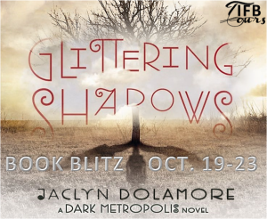 #Giveaway GLITTERING SHADOWS by JACLYN DOLAMORE @jackiedolamore @DisneyHyperion