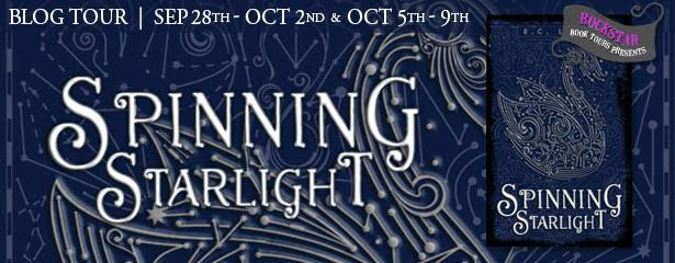 #Giveaway Guest Post SPINNING STARLIGHT by R.C. Lewis @RC_Lewis @DisneyHyperion