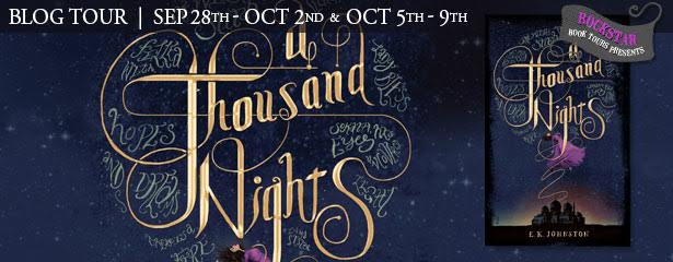 #Giveaway Guest Post A THOUSAND NIGHTS by E K Johnston @ek_johnston @DisneyHyperion
