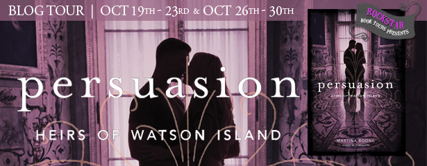 #Giveaway Interview PERSUASION by Martina Boone @MartinaABoone @SimonPulse