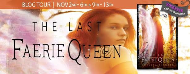 #Giveaway Interview THE LAST FAERIE QUEEN by Chelsea Pitcher @Chelsea_Pitcher @fluxbooks 11.16