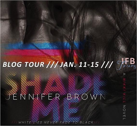 #Giveaway Interview SHADE ME by Jennifer Brown @JenBrownBooks @HarperTeen