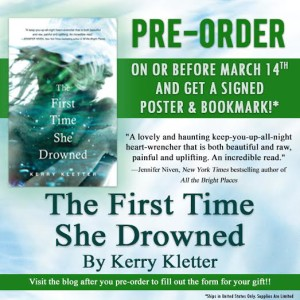 first time she drowned banner