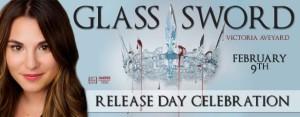 #Giveaway GLASS SWORD (Red Queen #2) by Victoria Aveyard  @VictoriaAveyard @HarperTeen 2.21