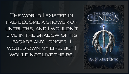 $25 #Giveaway THE RISE OF GENESIS by M R Merrick @MRMerrick