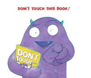 don't touch this book banner 1