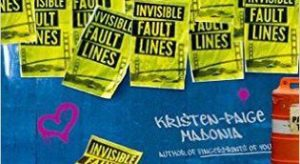 Giveaway Review Interview INVISIBLE FAULT LINES by Kristen-Paige Madonia @KPMadonia @SimonTeen