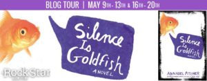silence is goldfish banner