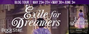 #Giveaway Interview EXILE FOR DREAMERS by Kathleen Baldwin @KatBaldwin @TorTeen 6.6
