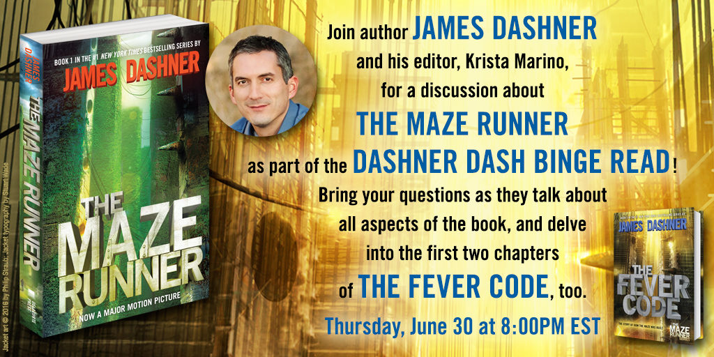 The #DashnerDash Reread!  THE SCORCH TRIALS  Check In!  #Giveaway