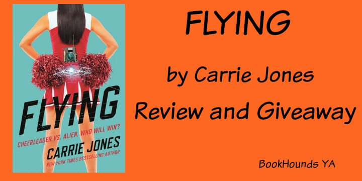 #Giveaway Review FLYING by Carrie Jones @carriejonesbook @TorTeen 7.19
