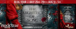 #Giveaway Review THE ARCHITECT OF SONG by A.G. Howard @aghowardwrites 8.7