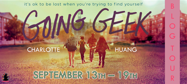 #Giveaway Review Going Geek by Charlotte Huang @charlottexhuang @DelacortePress @The_FFBC 9.24