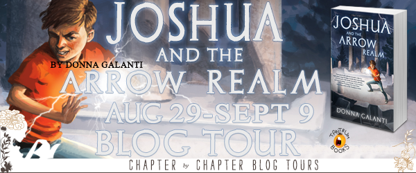 #Giveaway Interview Joshua and the Arrow Realm by Donna Galanti @DonnaGalanti @TantrumBooks 9.16