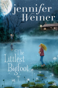 #Giveaway Review The Littlest Bigfoot by Jennifer Weiner @JenniferWeiner @SimonKids 9.22
