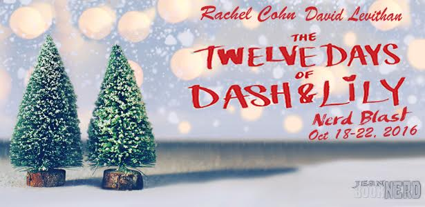 10 Winners will receive a Copy of THE TWELVE DAYS OF DASH & LILY by Rachel Cohn & David
