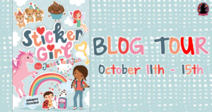 #Giveaway Review Interview STICKER GIRL by Janet Tashjian @JanetTashjian @MacKidsBooks 10.24