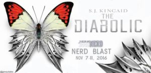 #Giveaway Review THE DIABOLIC by SJ Kincaid @SJKincaidBooks @SimonTeen @RivetedLit 11.20