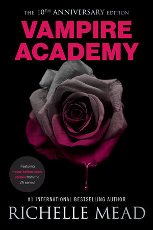 one of five (5) paperback copies of Vampire Academy 10th Anniversary Edition by Richelle Mead