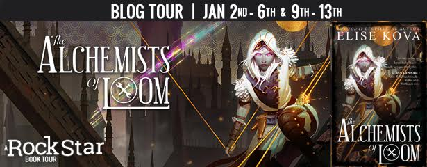 #Giveaway Interview THE ALCHEMISTS OF LOOM Author: Elise Kova 1.15