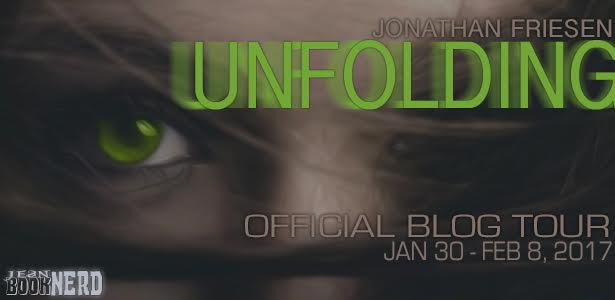 #Giveaway UNFOLDING by Jonathan Friesen @FriesenJonathan 2.11