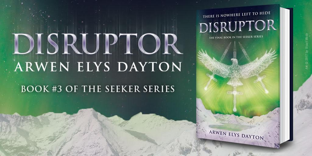 my ARC of Disruptor - US only