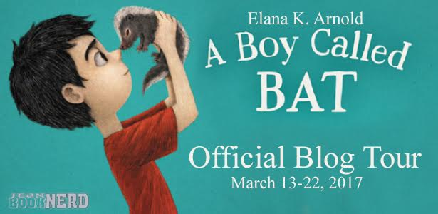 5 Winners will receive a Copy of A Boy Called Bat by Elana K. Arnold