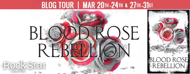 #Giveaway Interview BLOOD ROSE REBELLION by Rosalyn Eves @RosalynEves @KnopfBFYR