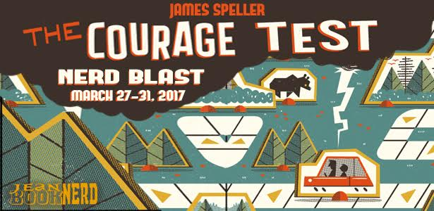 3 Winners will receive a Copy of The Courage Test by James Preller