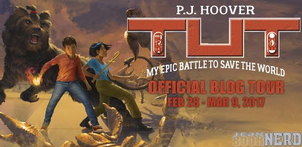 #Giveaway Interview Tut: My Epic Battle to Save the World by P. J. Hoover @pj_hoover 3.13