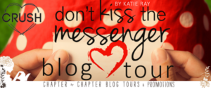 #Giveaway WHAT'S IN KATIE RAY'S BAG? Don't Kiss the Messenger by @TheWeirdists @EntangledTeen Blog Tour