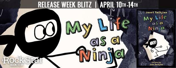 3 Winners will receive a finished copy of MY LIFE AS A NINJA, US Only.